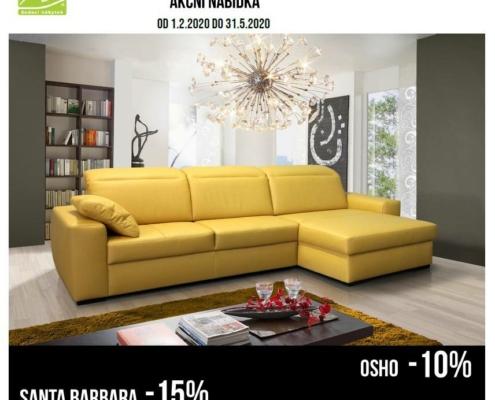 akční slevy na nábytek, výprodej nábytku